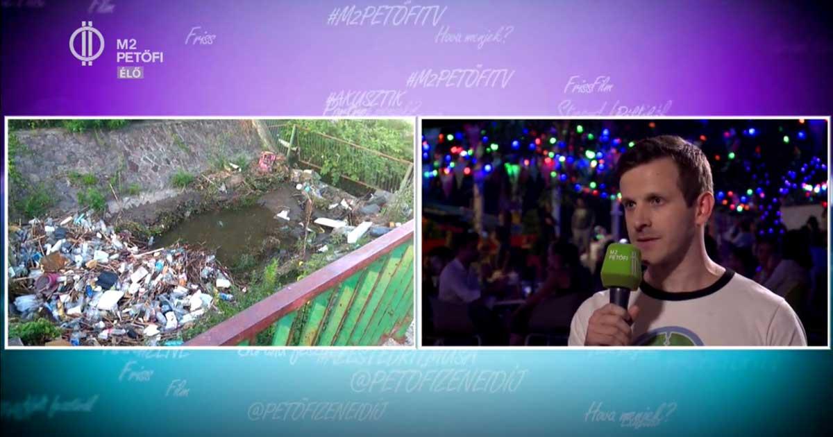 Több millió tonna illegálisan lerakott hulladék van ma Magyarországon. / Fotó: MTVA